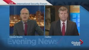 Tom Clark joins Global Halifax live from Halifax International Security Forum