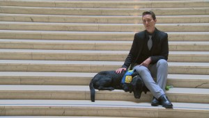 Getting to know Milan, the service dog who helps some of the youngest victims in Manitoba