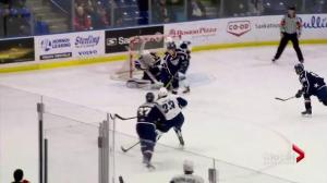 Tri-City Americans shut out Saskatoon Blades 2-0