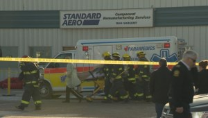 RAW: Winnipeg plant explosion burns two employees