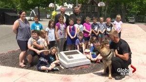 Dog in Bridgewater police department named after Canadian soldier