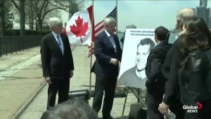 Stephen Harper unveils Gordie Howe International Bridge linking Windsor and Detroit