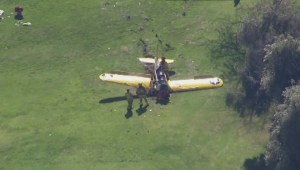 Raw: Harrison Ford reportedly injured in small plane crash