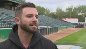 RAW: Winnipeg Goldeyes Adam Heisler Interview
