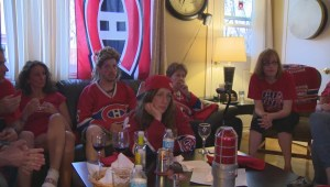 Crazy Habs viewing party