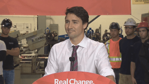 Trudeau says his economic plan is fully-costed