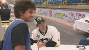 Justin Schultz brings Stanley Cup to West Kelowna