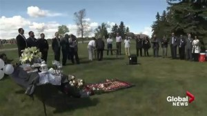 Calgary gas-and-dash victim described as 'mom who sacrificed her life' at Mother's Day service