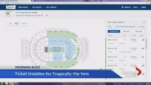 The Tragically Hip final concert ticket troubles