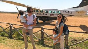 This couple is travelling the world for free with kids on travel miles