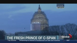 """Fresh Prince of Bel-Air"" prankster on C-SPAN"
