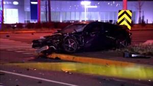 Man fights for his life after Brossard car crash