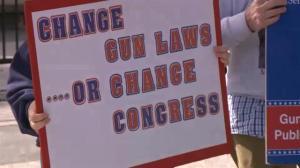Gun control debate once again dominates U.S. political arena
