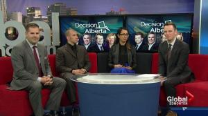 Global's Decision Alberta 2015 panel
