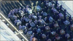 Aerial footage shows size, scale of joint US/Canadian drug bust
