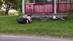 Man found dead after motorcycle crash