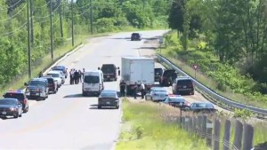Shooting suspect arrested following carjacking, pursuit on Hwy. 400 in Barrie