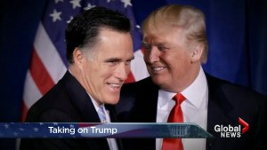 Trump, Romney hold nothing back in dueling attacks