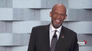 'I know Donald Trump couldn't tell the difference': Kareem Abdul-Jabbar refers to himself as Michael Jordan