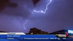 May long weekend storm activity in Saskatchewan