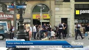 Terror Strikes in Barcelona