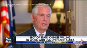 China says it will impose more sanctions on North Korea if missile test conducted: Tillerson