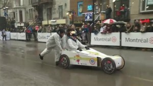 Soapbox derby takes over St-Denis Street