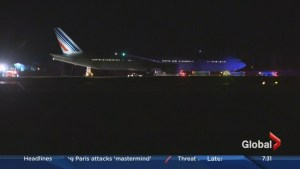 Air France plane diverts to Halifax