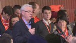 Greg Selinger announced as the continuing leader of the Manitoba NDP