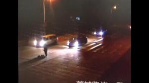 Chinese man incredibly survives being run over three times
