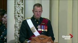 Commanding officer remembers Nathan Cirillo, the soldier