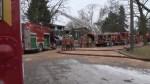 RAW: Overnight three-alarm fire; one missing