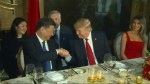 Trump speaks about friendship with China at dinner in Florida