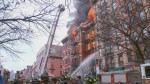 RAW: Explosion and fire in residential Manhattan building