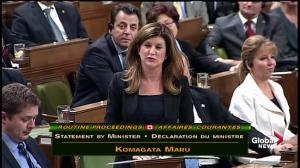 Opposition leader Rona Ambrose joins PM Trudeau in apologizing for Komagata Maru incident