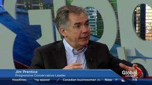 Jim Prentice discusses the leaders' debate