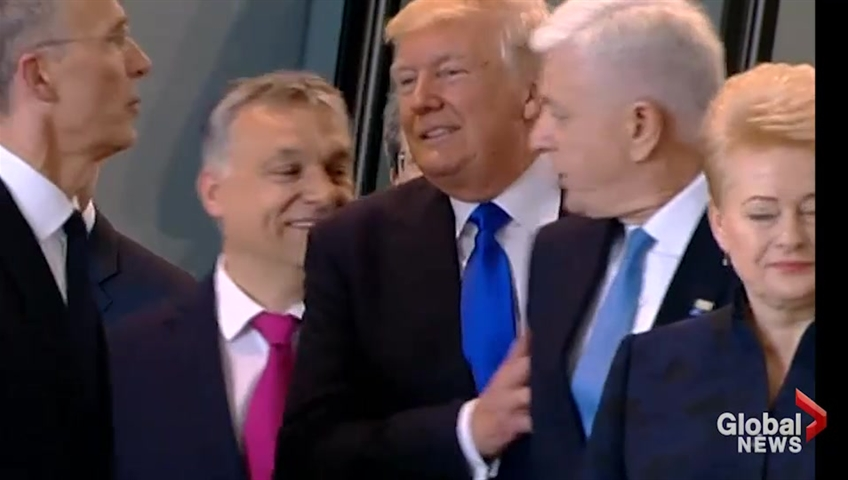 Trump tweets 'money is beginning to pour in' to NATO
