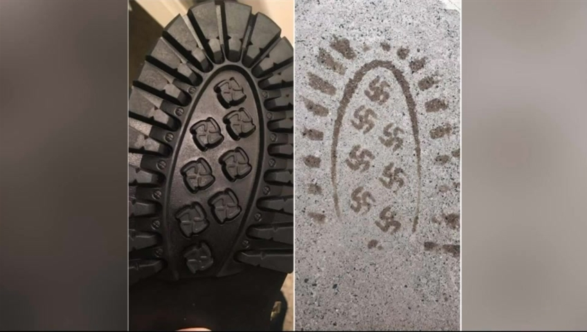 Company recalls boots when man finds swastikas on soles