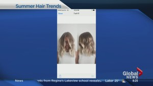 Latest trends in summer hair styles