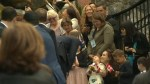 B.C. girl meets royals before they depart Canada