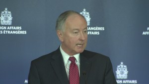 Rob Nicholson outlines successes of Canada's anti-ISIS mission