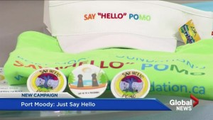 Port Moody campaign encourages residents to 'just say hello'