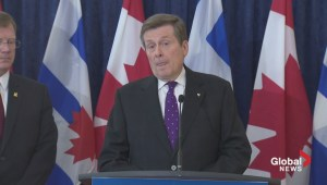 Mayor Tory will not take 'loan' from provincial government to cover budget shortfall