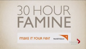 400-thousand youth are going hungry to raise awareness for world starvation