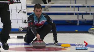Craig Savill returns to curling following cancer diagnosis