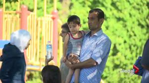 Syrian refugees forced out of Coquitlam homes by fire