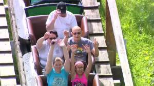 82-year-old rides roller coaster 5000 times