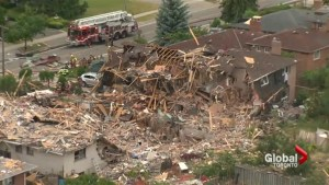 Mississauga house explosion not treated as homicide at this time