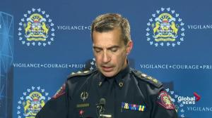 Calgary Police describe police involved shooting at Marlborough Mall