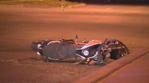RAW VIDEO: Motorcyclist in critical condition after Montreal crash